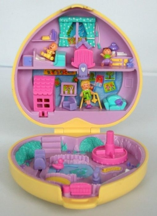 Polly Pocket Heart Box