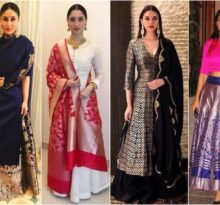 Revamp your Mom's Saree in 6 Fun and Chic Ways
