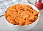 healthy sweet potato bbq chips