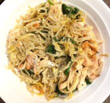 5 Ingredient Soba Noodles with Salmon