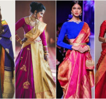 Wear Kanjeevaram In The Most Fun And Chic Styles
