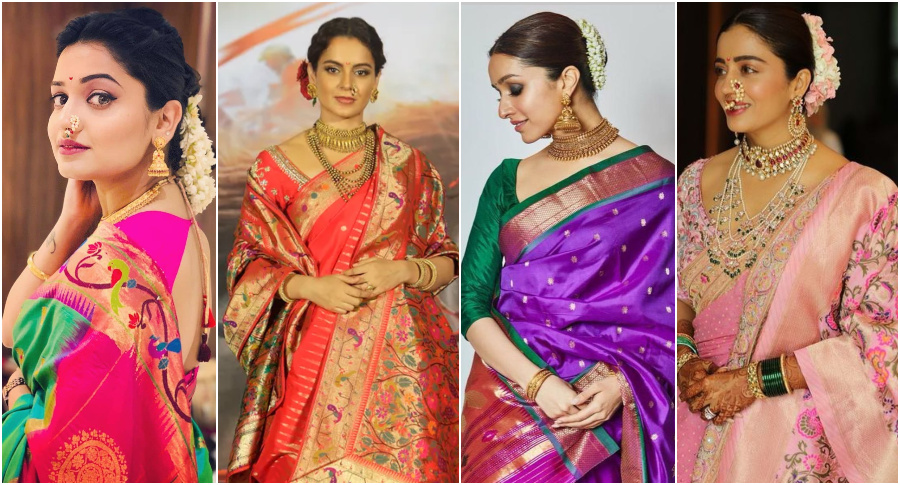All About Paithani Sarees And Where to Buy An Authentic One!