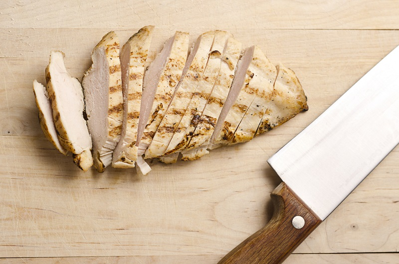 Grilled chicken breast healthiest foods to order